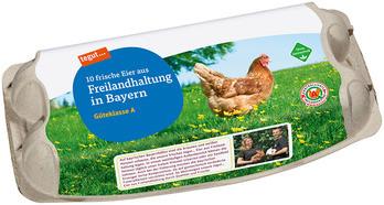 10 Eier aus Freilandhaltung in Bayern