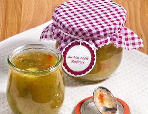 Zucchini-Apfel-Konfitüre