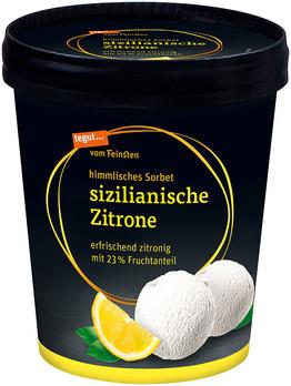 Sorbet sizilianische Zitrone