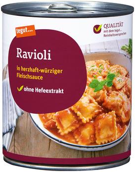 Ravioli in Fleischsauce