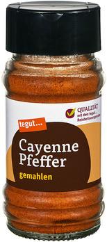 Cayenne Pfeffer, gemahlen