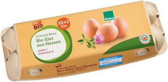 12 frische Minis Bio-Eier aus Hessen