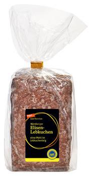 Nürnberger Elisenlebkuchen ohne Mehl im Lebkuchenteig