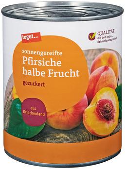 Pfirsiche halbe Frucht 850 ml