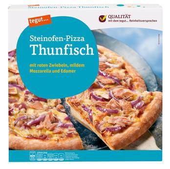 Steinofen-Pizza Thunfisch