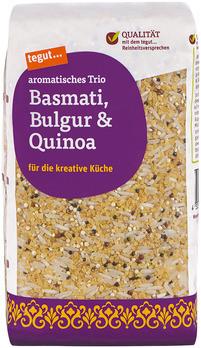 Basmati, Bulgur & Quinoa