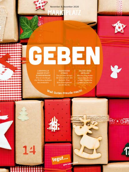 tegut... Kundenmagazin Marktplatz November/Dezember 2020