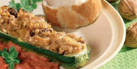 Gebackene Zucchini