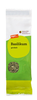 Nachfüllbeutel Basilikum, gerebelt