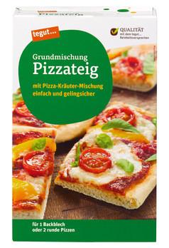 Grundmischung Pizzateig