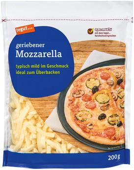 geriebener Mozzarella