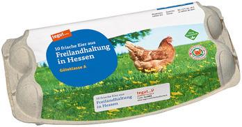 10 Eier aus Freilandhaltung in Hessen