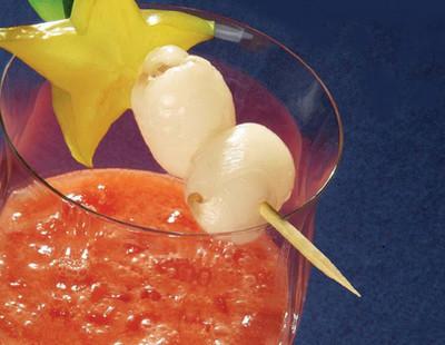 Litschi-Cocktail