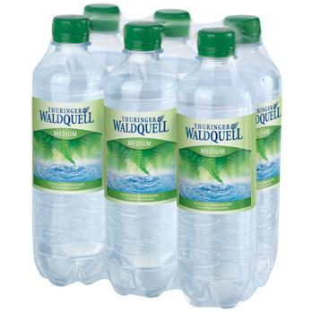 Thüringer Waldquell Mineralwasser medium 6er-Pack