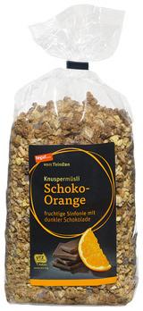 Knuspermüsli Schoko-Orange
