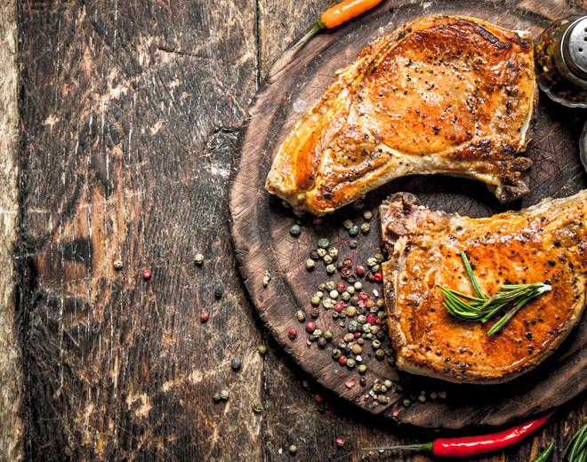 ... Steaks und Würstchen