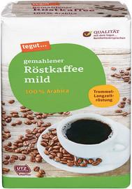 gemahlener Röstkaffee mild