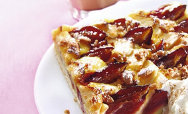 Zwetschgen-Apfel-Kuchen