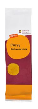 Nachfüllbeutel Curry Gewürzzubereitung