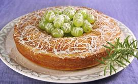 Zitronen Rosmarin Kuchen Mit Schoko Trauben Rezept Tegut