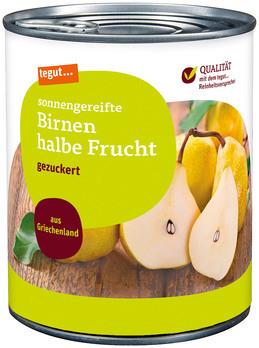 Birnen halbe Frucht 850 ml