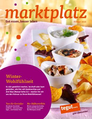 tegut... Kundenmagazin Februar 2016