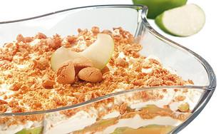 Apfel-Tiramisu mit Amarettini