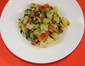 Möhren-Kartoffel-Sellerie-Salat
