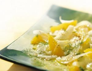 Fenchel-Orangen-Salat mit Sesam