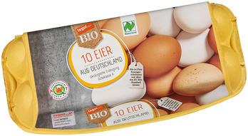 10 Bio Eier aus Deutschland