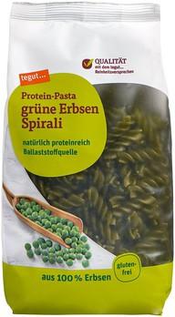 grüne Erbsen Spirali