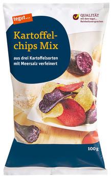 Kartoffelchips Mix