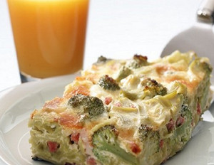 Brokkoli-Nudel-Auflauf