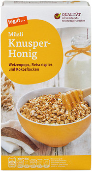 Müsli Knusper-Honig