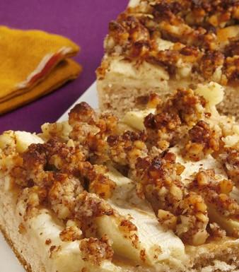 Apfel-Mandel-Blechkuchen