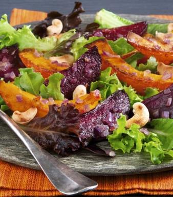 Kürbis-Rote-Bete-Salat