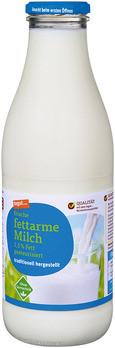 frische fettarme Milch 1,5 % Fett, pasteurisiert (Glasflasche)