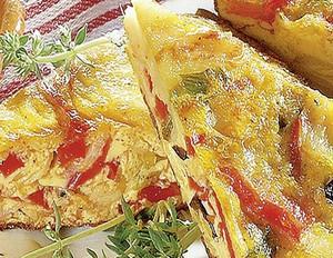 Kartoffel-Tortilla mit Oliven