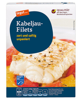 Kabeljau-Filets