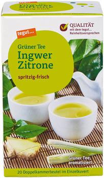 Grüner Tee Ingwer Zitrone