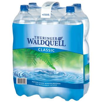 Thüringer Waldquell Mineralwasser classic 6er-Pack