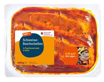 Schweine-Bauchscheiben Paprika