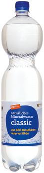 natürliches Mineralwasser classic