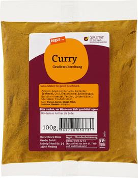 Curry Gewürzzubereitung