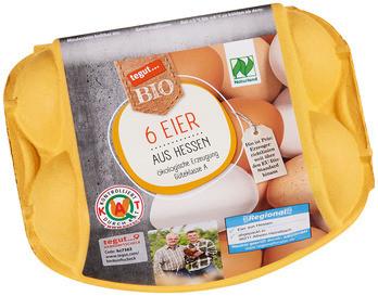 Bio 6 Eier aus Hessen
