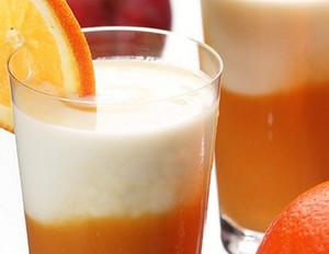 Orangen-Mango-Buttermilch-Drink
