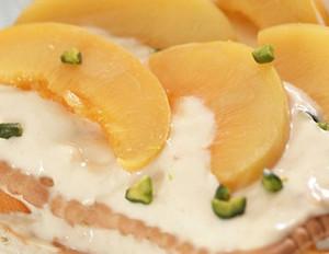 Pfirsich-Joghurt-Schichtspeise