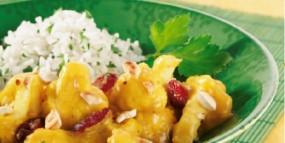 Blumenkohl-Curry mit Petersilien-Basmatireis
