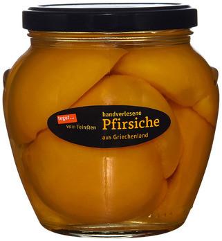 handverlesene Pfirsiche