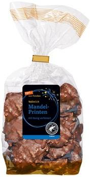 Mandel-Printen mit Vollmilchschokolade